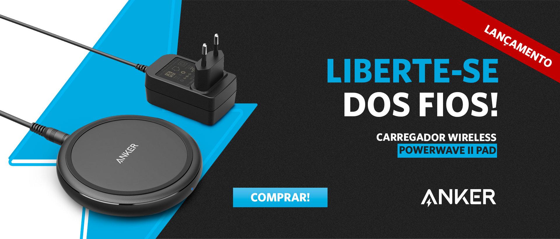 Carregador Wireless PAD2